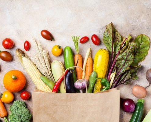 alimentos sanos en otoño